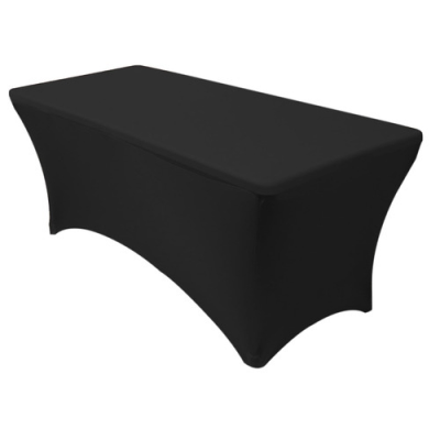 Black Table Cover